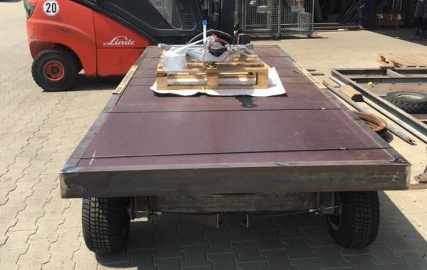 Staplerwagen für innerbetrieblichen Verkehr